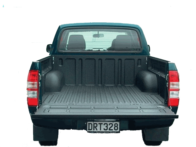 Speedliner ute tray Kevlar coating